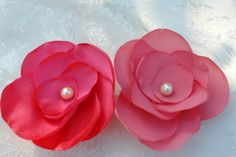 Adorable Petite Corral Flower Pin Headband-All ages Photo Prop