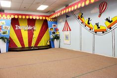 vbs circus decorations | Teaching the kids a Roller Coaster Cheer. Have you ever seen one ...