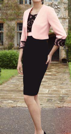 Slavnostní šaty - kostýmek Style, Fashion, Swag, Moda, Fashion Styles, Fasion