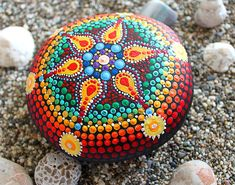 Painting stone, hand painting stone, Mandala painting, Yoga Boho gift, Hand painted stone, Dot Mandala painting, Meditation art, Stone Pebble art, Office gift idea, colorful mandala, painted rock, mandala rock, beach rock. All of mine hand painted stones made with love. It is my main job and hobbi. This unique stone will be wanderfull gift for yoga lover and metitation. Enjoy my original dots paiting beach rock! *All items are made within 1-3 business days *Tracking info is provided upon…