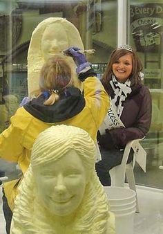 St. Paul Minnesota - State Fair Sculptor Linda Christenson