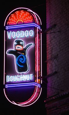 Voodoo Doughnuts in Portland, OR....gave Vanna White a donut that looked like Wheel of Fortune when Wheel was in Portland last year.