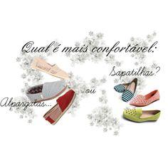 """""""Qual é mais confortável: alpargatas ou sapatilhas?"""" by truquesdemeninas on Polyvore"""
