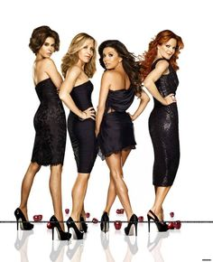 Just watched the season 8 finale. This is the end. Goodbye Gaby, Susan, Bree and Lynette! #DesperateHousewives