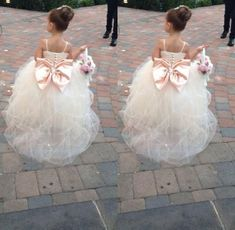 Infant Flower Girl Dresses Pageant Dresses For Girls Spaghetti Sleeveless Flower Girl Dresses White Ivory Champagne Kids Ball Gowns Wedding Dress Sash Beading Belt Dresses For Girls For Weddings From Forever_love_u, $56.55  Dhgate.Com