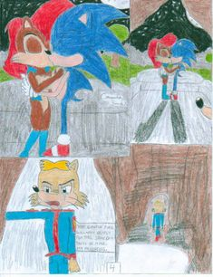 Sonic and the Freedom Fighters Ep. 1 Pg 4 by SHREKRULEZ on DeviantArt Sonic Satam, The Freedom, Freedom Fighters, Kids Rugs, Deviantart, Painting, Decor, Decoration, Kid Friendly Rugs