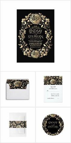 Floral Vintage Wedding Collection
