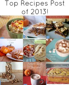 Top Recipes of 2013 from The Grant Life.