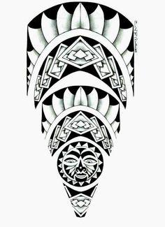 Tattoo Maori e Tribal só as top mlk