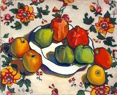 Николай Кузнецов «Гранаты и яблоки»