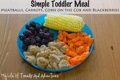 Simple  Easy Toddler Meal Ideas | #Toddler #Kids #Lunch #Meals