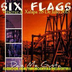 Recuerda que nuestra próxima salida a #sixflags es el28 de #julio desde #Veracruz y #Xalapa http://www.turismoenveracruz.mx/2013/07/six-flags-te-espera-este-28-de-julio-de-2013-saliendo-de-veracruz-y-xalapa/ #Mexico