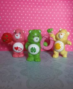 Vintage Care Bear Figurines - Awesome!
