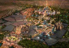 Dubai Disneyland concept art