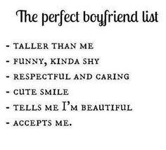 I have the perfect Boyfriend