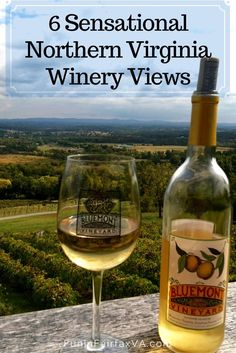 Relax and savor the changing seasons with these sensational Northern Virginia winery views, worth a visit year-round and only an hour from Washington DC.