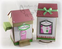Flower Shop Gift Set This project uses the Shop Around Mega Template and products from www.mytimemadeeasy.com