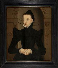 Portret van Gerland van Hemmema  Painter: Adriaen van Cronenburg  1565 Fries Museum