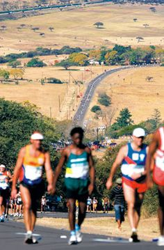 Comrades Marathon, my retirement project! 89 km? No problem.