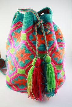 Loopy Mango - Hand crocheted bag