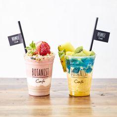 Fruit Drinks, Fruit Smoothies, Yummy Drinks, Smoothie Recipes, Yogurt Bar, Yogurt Cups, Cute Desserts, Delicious Desserts, Yummy Food