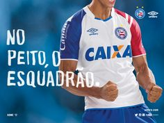 e9d9534c0f Camisas do Bahia 2017-2018 Umbro