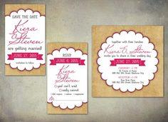 Wedding Invitations - sweetsproutdesigns