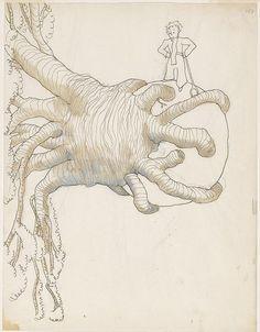 ilustraciones originales de El Principito5