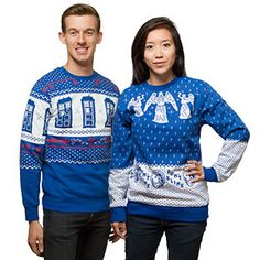 Doctor Who Holiday Sweatshirts - Exclusive