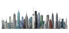 50 Amazing Skyscrapers.  Chicago lays claim to the world's first skyscraper. The 138-foot-tall Home Insurance Building was built in 1888 and was the first building to use steel beams as support. Soon after, builders in Chicago and New York were competing with each other to build the world's tallest building.