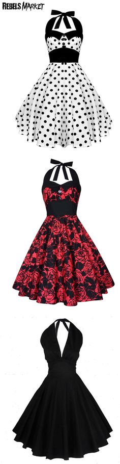 Shop rockabilly dresses for Valentine's Day at RebelsMarket.