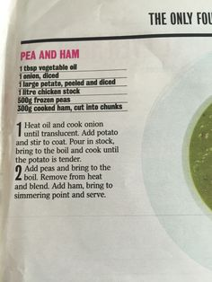 Pea and ham