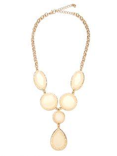 Stunning Opal Tear Necklace