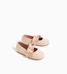 FRILL BALLERINAS-SHOES AND BAGS-BABY GIRL | 3 months - 4 years-KIDS | ZARA United States