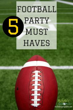 5 Football Party Mus