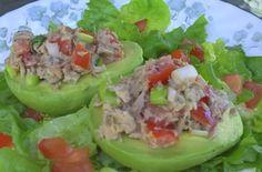 Tuna Stuffed Avocados Recipes. #Recipes