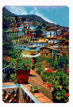Taxco, Mexico. One of the prettiest laces I've been! Taxco is the silver capital.