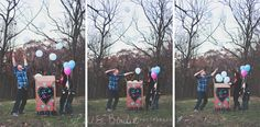 It's a… | Front Royal, Virginia Gender Reveal Photographer » Little Birdie Photography