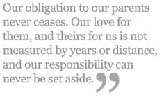 Love and obligation
