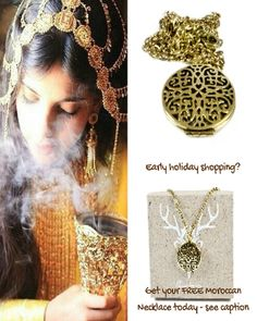 Want an idea for early holiday shopping? Take a look at our Arabian essential oil necklace diffuser.  For 1 Day Only get this finecraft Antique Moroccan Diffuser Necklace from @eupterrae FREE.  Use Code: MOROCCO in discount section at checkout to get this deal.  Very fast shipping!  Eco-friendly gift boxed.  With every necklace ordered we raise awareness for developing sustainable communities among the native cultures of Arabia.  See bio @eupterrae   #eupterrae #jewelry #necklace