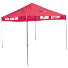 Arkansas Razorbacks NCAA Colored 9x9 Tailgate Tent