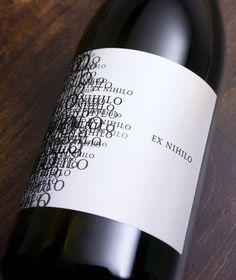 Ex Nihilo Wine Label