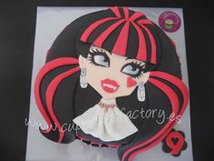 "Cupcakes Factory... ""El Blog"": Tarta Draculaura de Monster High ..."