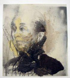 "Saatchi Art Artist katerina christopoulou; Drawing, ""old lady"" #art"