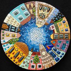 Pentart dekor: Mozaik - kiállta az idő próbáját!