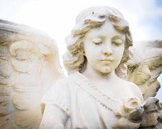 Angel at the Santa Clara Catholic Cemetery, San Jose, California