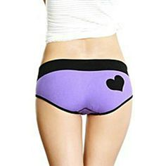 Sexy Womens Underwear Heart Pattern Seamless Briefs Panties Knickers Lingerie #Affiliate