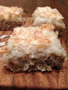 Recipe: Gluten Free Coconut Cake,I am going to try substituting with Organic Coconut Palm Sugar /brown sugar,gluten free for me and low glycemic for him, you when both ways brother