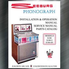 Service Parts Seeburg LS1 Spectra NEW Installation Manual