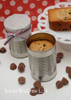 Banana Nut Bread in a can